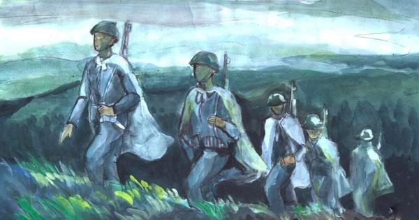 phan tich hinh tuong nguoi linh tay tien trong bai tho tay tien cua quang dung - Phân tích hình tượng người lính Tây tiến trong bài thơ Tây tiến của Quang Dũng