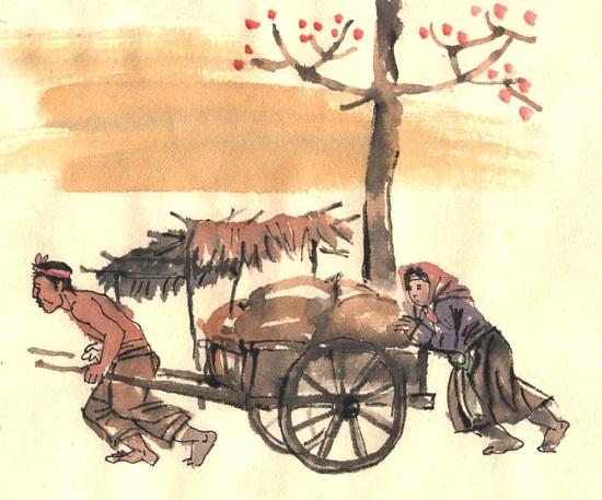 phan tich nhan vat trang trong vo nhat cua nha van kim lan 1 - Phân tích nhân vật Tràng trong Vợ nhặt của nhà văn Kim Lân