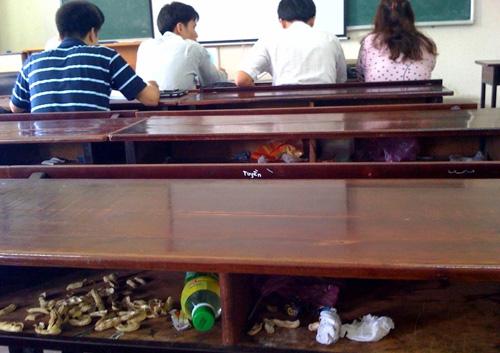 suy nghi ve hien tuong xa rac trong truong hoc - Suy nghĩ về hiện tượng xả rác trong trường học